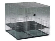 MidWest Puppy Playpen Dog Crate with Floor Grid