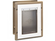 PetSafe Wall Entry Aluminum Pet Door (Small) PPA11-10915