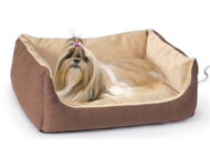 K&H Thermo-Pet Cuddle Cushion Heated Dog Bed