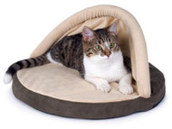 K&H Manufacturing Thermo-Kitty Hut Heated Cat Bed