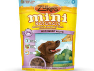Zuke's Mini Naturals Healthy Moist Miniature Dog Treats-Wild Rabbit