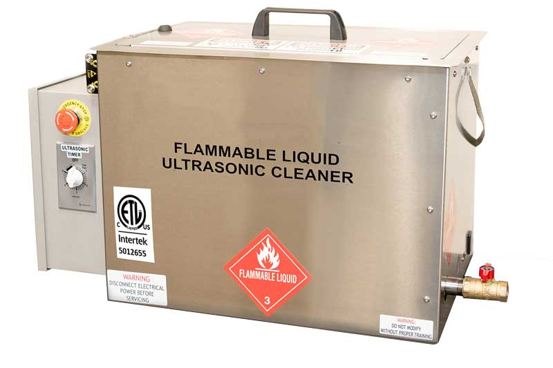 Clean Large Parts with Volatile Flammable Solvent with SOL XP