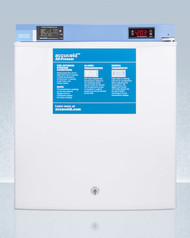 Summit FS24LMED2 Table Top Manual Defrost Lab Freezer