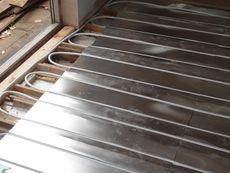 Underfloor Heating Spreader Plates