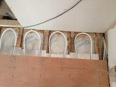 Underfloor Heating Pipes under the floor