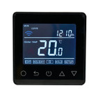 Wifi Black Thermostat for Underfloor Heating