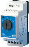 Din Rail Mounted Temperature Controller c/w Remote External