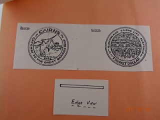 Free Hand Design Of The Cairns Tourist Dollar