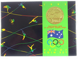 1992 Royal Australian Mint Barcelona Olympic Games Proof Coin Set