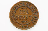 1926 Penny George V in Very Fine Condition