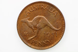 1951 Penny George VI in Uncirculated Condition
