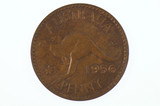 1956 Penny Elizabeth II in Uncirculated Condition