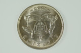 1958 Sixpence Elizabeth II in Uncirculated Condition