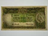 1961 One Pound Coombs / Wilson Banknote in Very Fine Condition