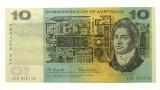 1966 Ten Dollars Star Replacement Coombs / Wilson Banknote