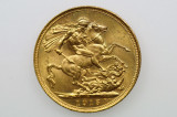 1915 Sydney Mint Gold Full Sovereign in Extremely Fine Condition