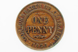 1923 Penny George V in Very Fine Condition