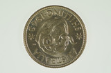 1943 S Shilling George VI in Uncirculated Condition