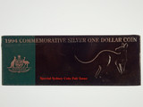 1994 Commemorative Silver Proof One Dollar Special Sydney Coin Fair Issue