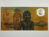 1988 Ten Dollars Johnston / Fraser Second Release Banknote in aUnc
