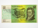 1979 Two Dollars Knight / Stone Banknote in Uncirculated Condition