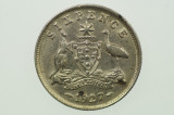 1927 Sixpence George V in Very Fine Condition