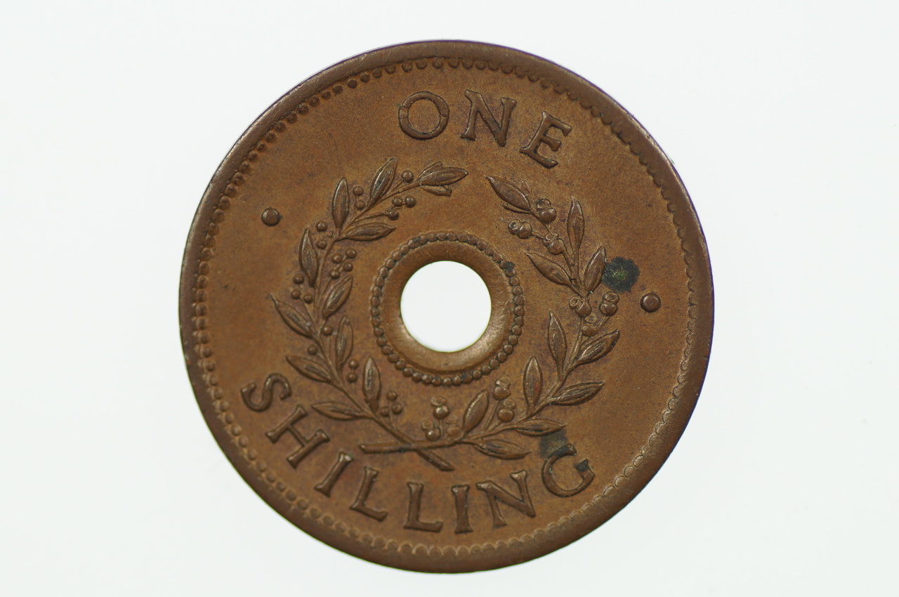 Australian Internment Camps One Shilling POW Token in Unc Condition
