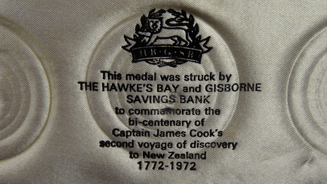 Captain James Cook's 2nd Voyage Gold, Silver and Bronze Medal Set Information