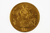 1909 Sydney Mint Gold Full Sovereign in Very Fine Condition