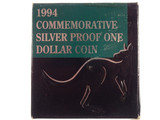 1994 Commemorative Silver Proof One Dollar Coin
