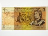1972 One Dollar Phillips / Wheeler Banknote in Uncirculated Condition