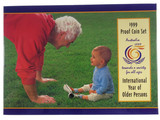 1999 Royal Australian Mint International Year Of Older Persons Proof Coin Set