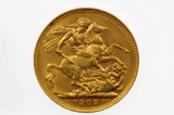 1903 Perth Mint Gold Full Sovereign in Very Fine Condition