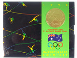 1992 Royal Australian Mint Barcelona Olympic Games Unc Coin Set