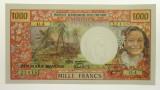 Tahiti 1983 1000 Francs Yves Roland-Billecart / Gabriel Lefort Banknote