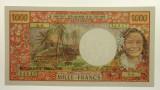 Tahiti 1985 1000 Francs Yves Roland-Billecart / Jacques Waitzenegger Banknote