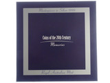 1999 Coins of the 20th Century Memories Masterpieces in Silver Proof Coin Set