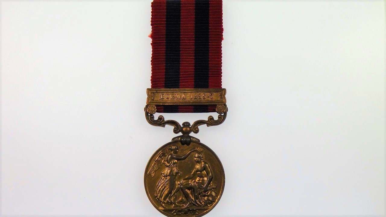 India General Service Bronze Medal 1854 - 1895