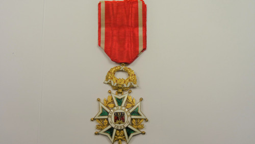 France Bordeaux Decoration of 1894 Medal