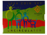 1994 International Year of the Family Uncirculated Coin Set