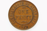 1922 Penny George V in Fine Condition