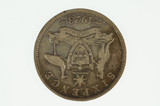 1923 Sixpence George V in Fine Condition