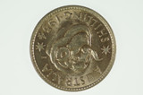 1954 Shilling Elizabeth II in Almost Uncirculated Condition