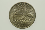 1943 S Florin George VI in Uncirculated Condition