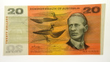 1972 Twenty Dollars Phillips / Wheeler Error Guillotined off-centre Banknote
