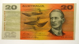 1974 Twenty Dollars Phillips / Wheeler Guillotined off-centre Banknote
