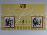1995 Fifty Dollars Fraser/Evans First Prefix AA95 Overprint 4 October Banknote