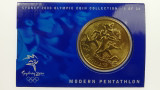 Sydney 2000 Olympic Games Pentathlon Five Dollars Uncirculated Coin