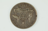 1917 Sixpence George V In Very Fine Condition