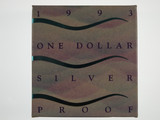 1993 Land Care One Dollar Silver Proof Coin
